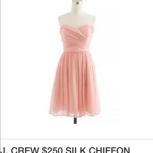 J crew silk Arabelle dress
